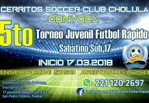 5to Torneo Juvenil Sabatino Varonil Sub 17 2018