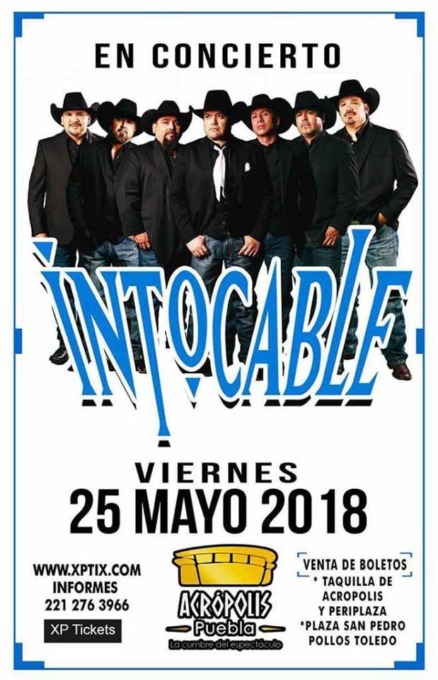 Intocable #Puebla