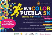 RUN COLOR PUEBLA 5K serial de pueblos mágicos