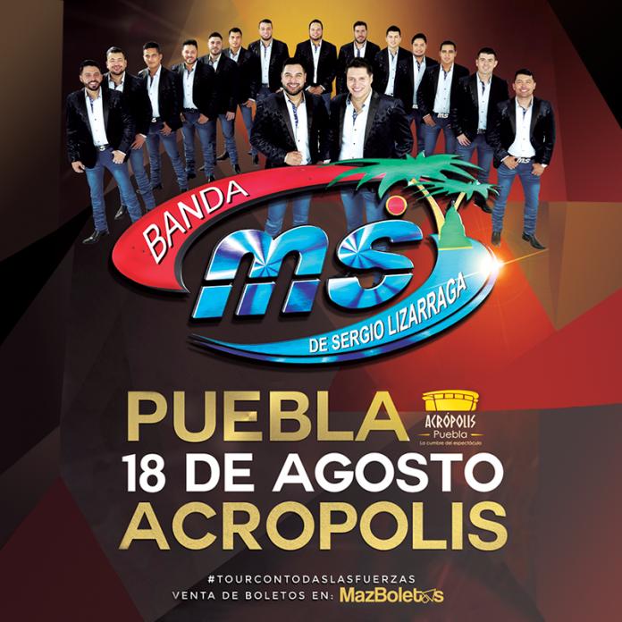 Banda MS en Puebla
