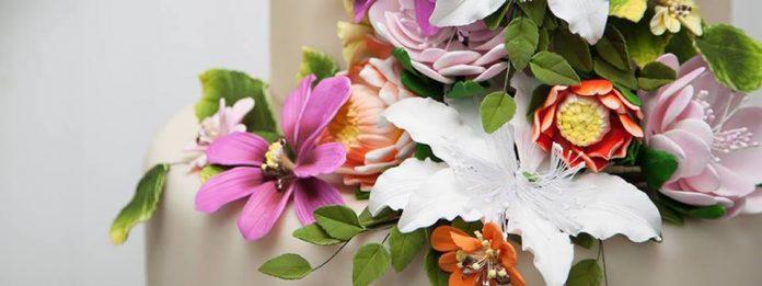 Flores de fondant y gumpaste