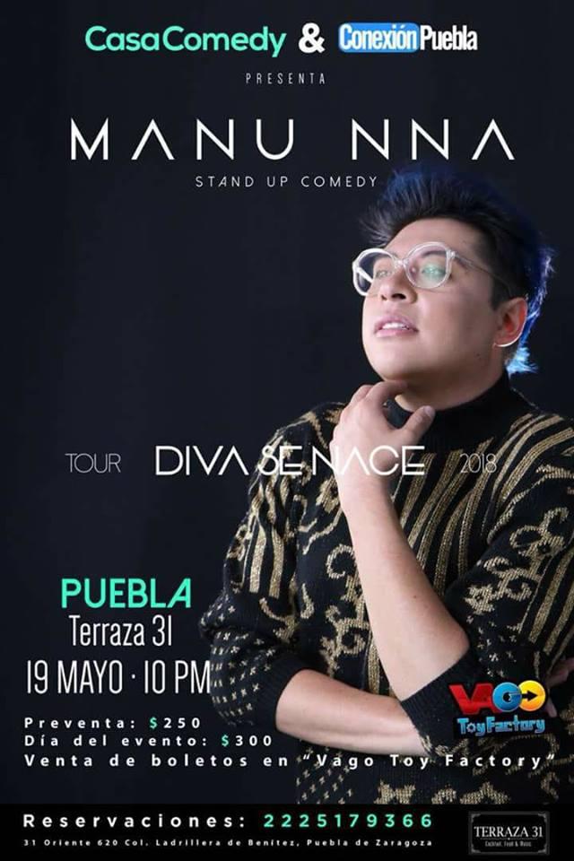 Manu Nna #Puebla