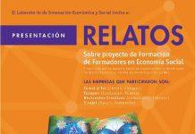 El Laboratorio de Innovación Económica y Social te invita a la presentación Relatos sobre Proyectos de Formación de Formadores de Economía Social.