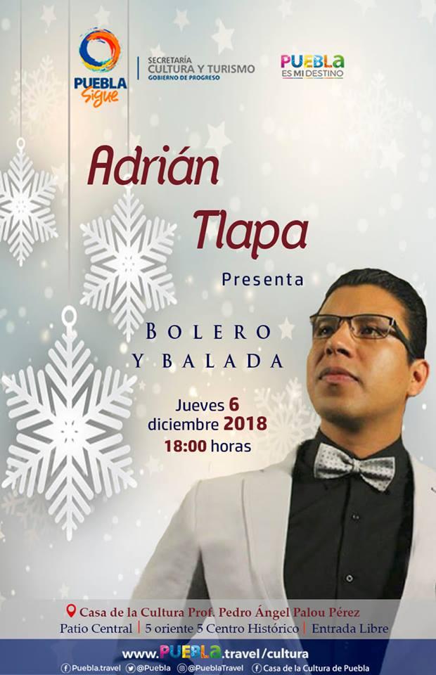 El Cantante Adrin Tlapa Hernndez